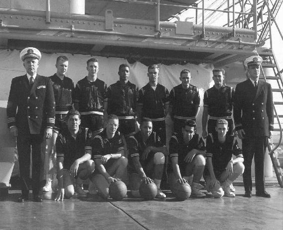 USS Jason BasketBall Team, 1962